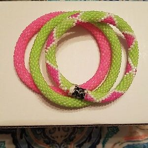Set of 3 Lily and Laura bracelets
